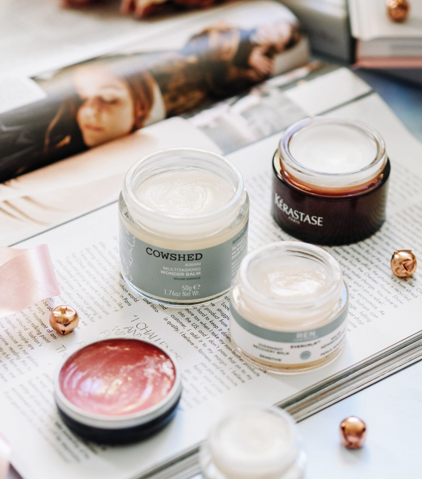 multi-tasking balm beauty must-have cowshed ren evercalm wonder balm soothe dry skin