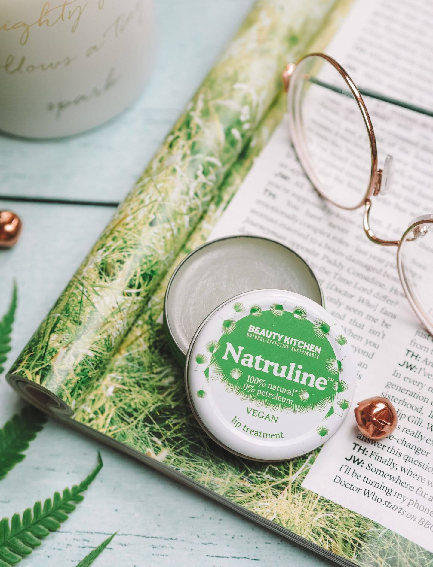 Vegan Petroleum Jelly Alternative: Beauty Kitchen's Natruline