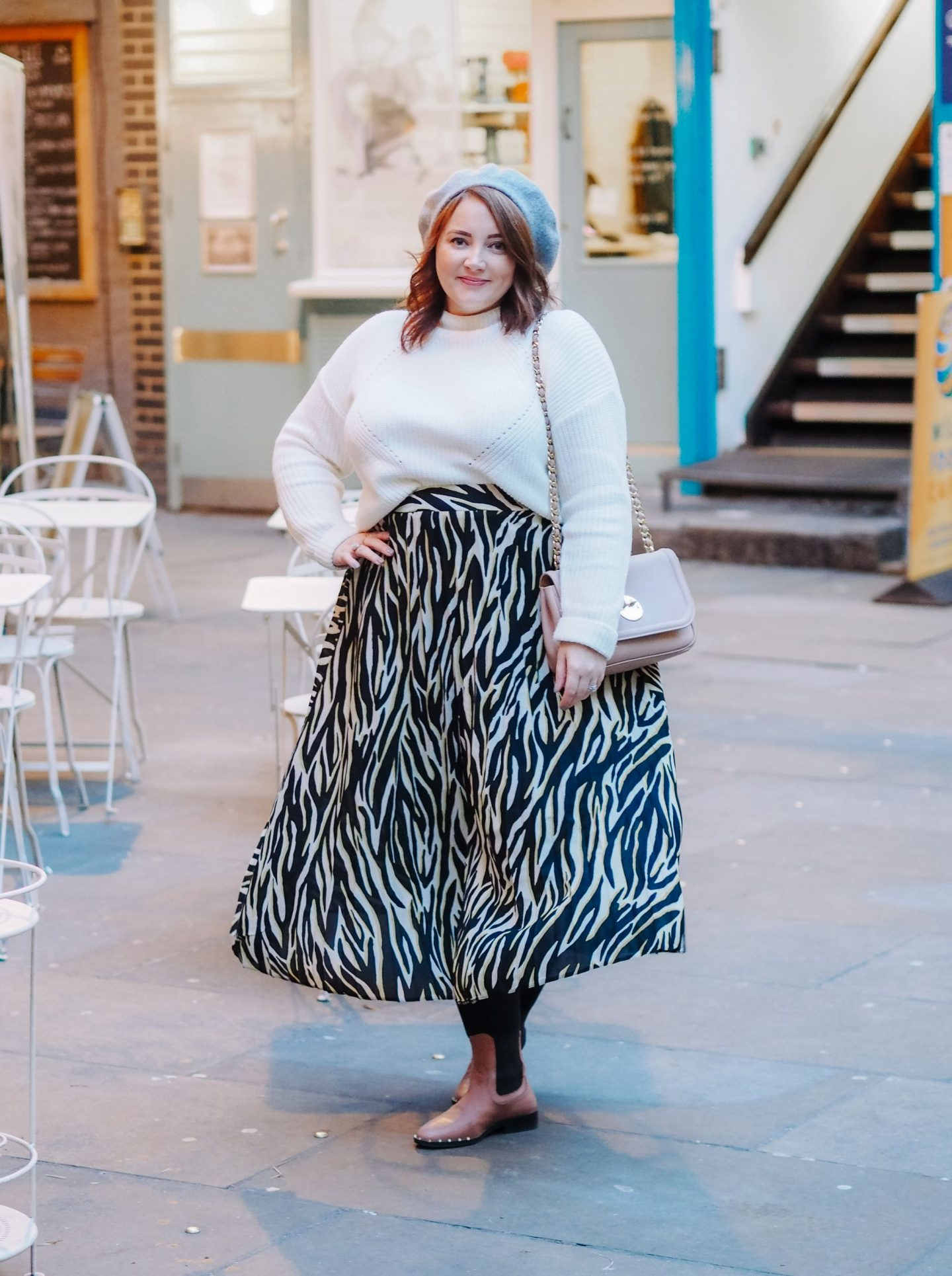 A Bargain Animal Print Midi Skirt: Add A Splash Of The Exotic To Your Wardrobe