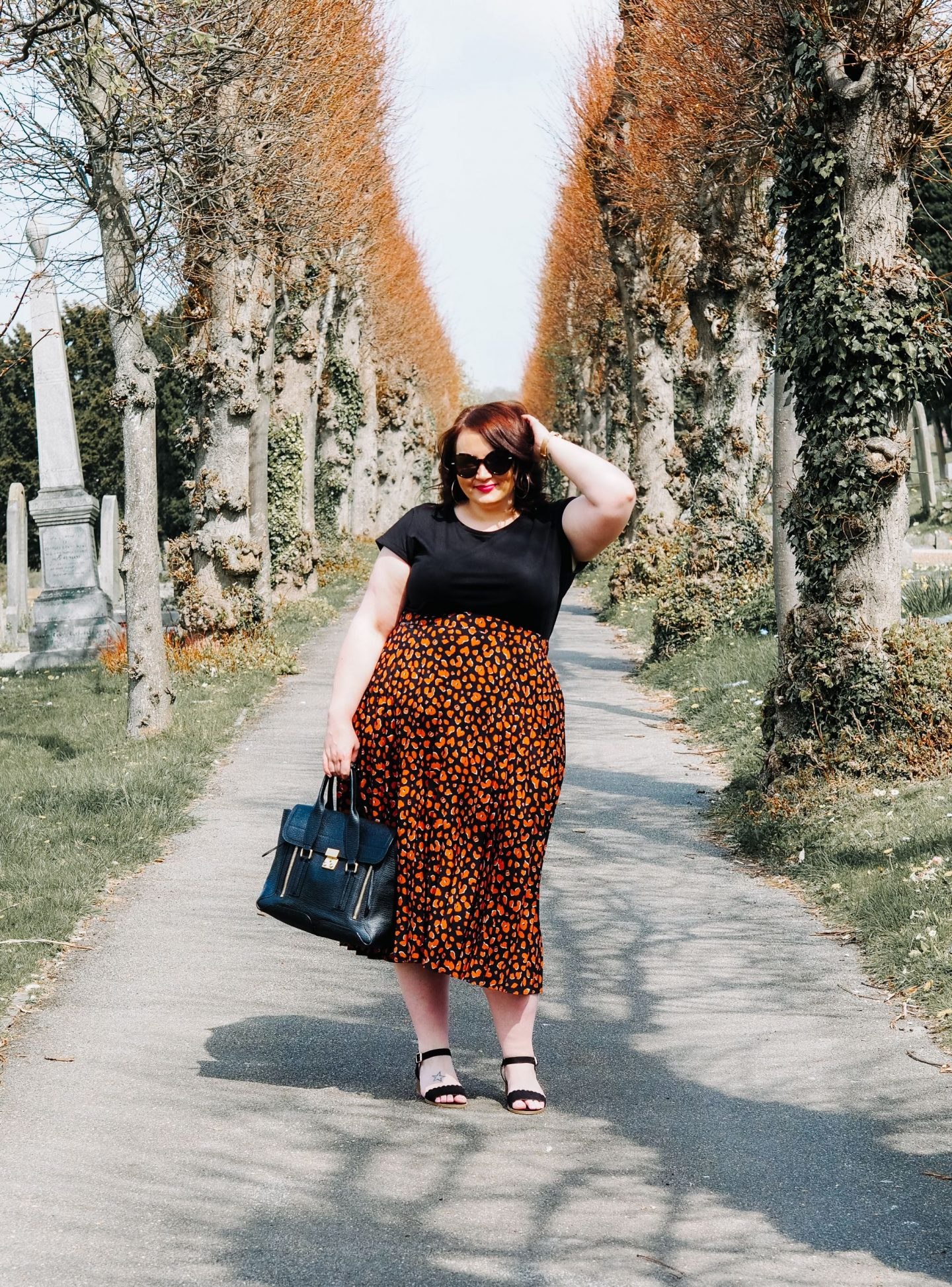 The Easiest Way To Wear A Midi Skirt For Spring (No Matter Your Style, Size Or Shape)