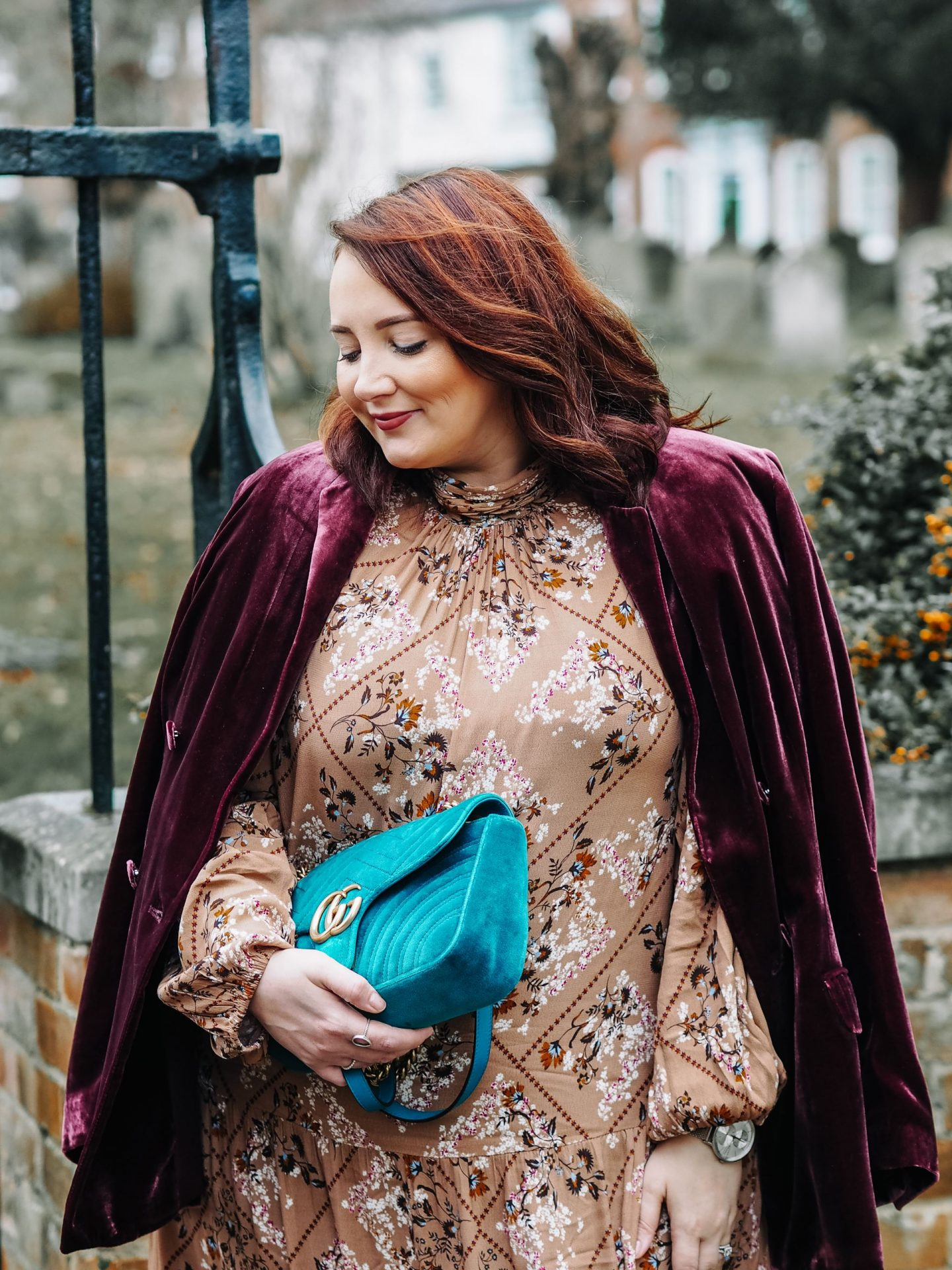 Just Add Velvet: A Transitional Blazer Of Dreams MARKS & SPENCER PLUS SIZE 16 FASHION