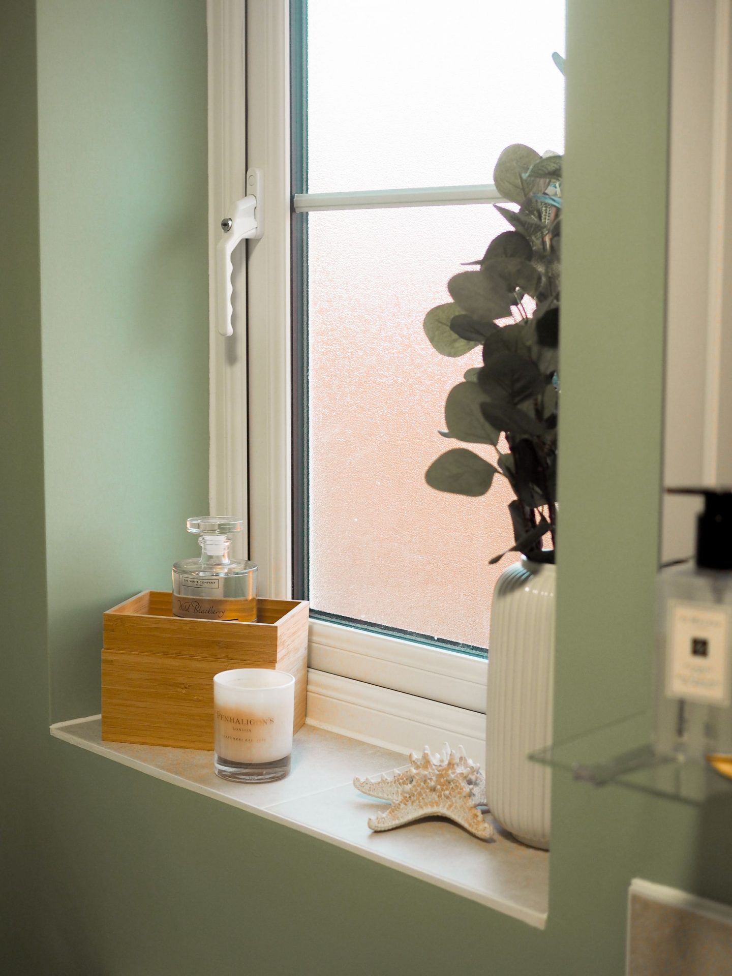 A Sage Green Bathroom New Build Makeover: Creating A Calm Space