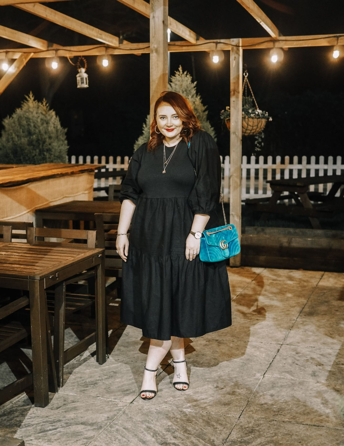 A Little Black Primark Dress & An Ode To Statement Sleeves: Modest Style