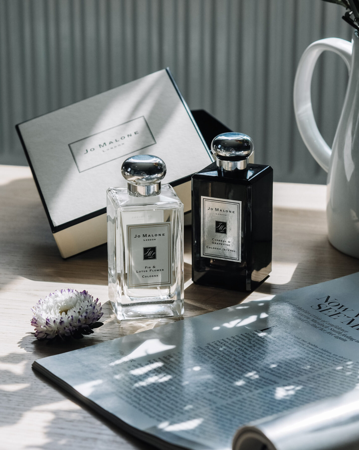 Jo Malone Fig & Lotus Flower and Cypress & Grapevine Review