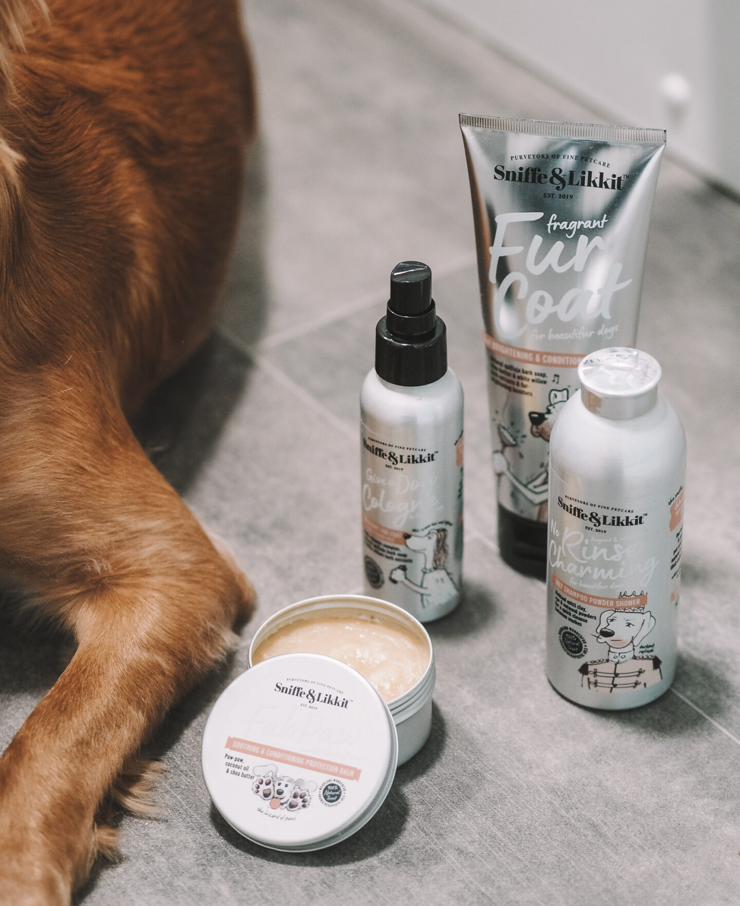 Sniffe & Likkit Dog Grooming Products For Pampered Pooches